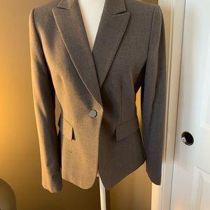 Ladies grey business suit